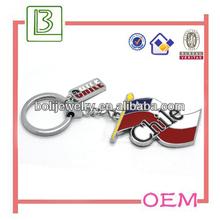 Zinc Alloy Chile Flag Keychain Key Ring Promotion Gifts