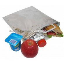 American Hot Dog aluminum foil thermos cooler bag keep cool plastic bag