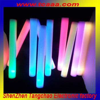 2014 Party supply custom foam glow stick china supplier