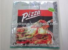 Pizza aluminum foil thermos cooler bag keep cool plastic bag