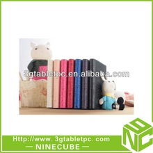 Colorful Universal 7 inch Tablet Leather Flip Case For 7inch PC Tablet Leather Case,7Colors