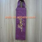 nonwoven handle wine bags