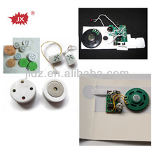 LED flashing greeting card music mechanism
