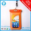 Plastic pvc waterproof bag for phone,iphone