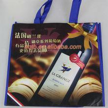 nonwoven tote 6 wine bottles bag