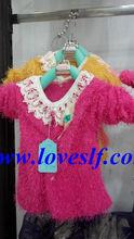 Loveslf new style children clothes/lovely/dress/kids