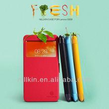 NILLKIN Color Painting Fresh Flip Case For Lenovo S939