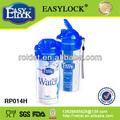 popular com filtro de quente e frio de plástico garrafa de água desportiva