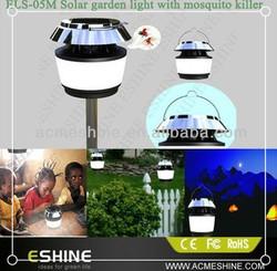 solar Mosquito Killer Lamp Mosquito Trap With UV Light