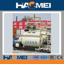 Random Color JS500 Diesel Engine Concrete Mixer