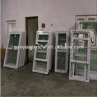 Wanjia factory wholesale upvc pull up window