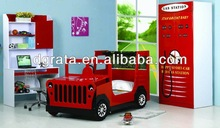 2014 So cool children jeep car bed was made of E1 MDF board and environmental protect paint