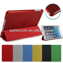 Folding Leather Case with Crystal Back Cover for iPad Mini 2