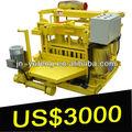 Dmyf- 4a bloque de concreto que hace la máquina manual yufeng de directa de la fábrica