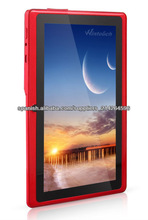 "7"" Android 4.0 Tablet PC Allwinner A13 1.2ghz 512MB DDR/4GB WiFi G-Sensor Front and rear Camera"