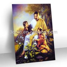 vendita calda artigianato figura religiosa 3d per la decorazione