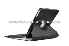 Hot 360 Rotation Bluetooth Keyboard Case for iPad Mini