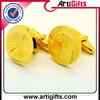 Best quality gold metal cufflink backs