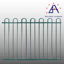 leading manufacturer aluminium farm border fence with flower