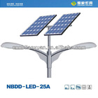 High luminous 50W led solar power street light with 3 years warranty