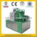 Eliminación de agua 100% automático backwashing engrase de la máquina purificar