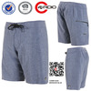 4-way stretch material mens beachwear Static Mod Boardshorts Fabric blend sports a Durable Water Repellent mens shorts