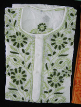 New Fashion Ladies White Chiken Tunic for Summer