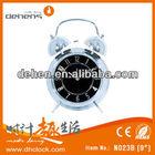 Metal Twin Bell Digital Funny Alarm Clock