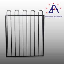 leading manufacturer aluminum garden border fence with vines