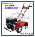diesel 7hp granja de la agricultura cultivador de herramientas y equipos agrícolas timón todos los equipos