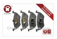Semi-metallic Auto brake pads for Ford / Mazda OE:5L8Z-2200-AA