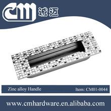Manufactured in China Kitchen Accessories Zinc Alloy Cabinet Handle Hidden Kitchen Handle