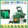 Low investment! block machine with concrete mixer! Shenta QTJ4-18 automatic cement brick making machine price in india