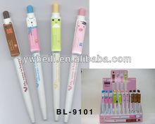 push action ballpoint pen,fashion ballpoint pen,novelty ballpoint pen