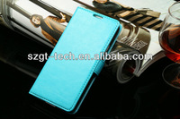 Luxury wallet mobile phone case Card case for Samsung I9600 Galuxy S5