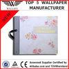 2014 new design Non-woven Wallpaper Catalogue--Source Embroidery II