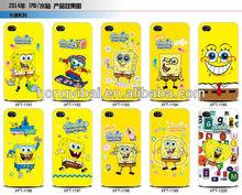 water transfer printing case,custom SpongeBob SquarePants covers for iphone