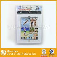 newly PVC for ipad waterproof case, for ipad waterproof case skin