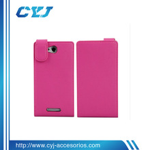 Fashion high quality fast shipping soft PU case for Sony xperia c s39h