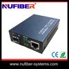 High performance Fiber sfp media convertor rack mounted