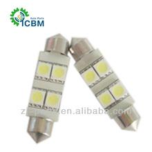 Wholesale 4SMD Auto LED Festoon Lamp