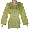 Beautiful Natural Colors Stylish Look Ladies Cotton Tunic Kurtis
