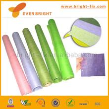 2014 brand new hot stamping felt fabric soft polyester wool felt glitter non woven cloth