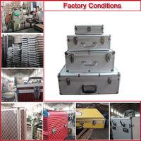 2014 New design Aluminium Metal Suitcase Made in China