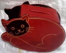 PIGGY BANK CAT
