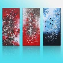 3 panel digital canvas printing
