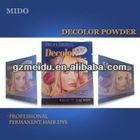 2014 MIDO Hot Selling Hair Dyeing Product Indian Hair Dye Powder 30ML