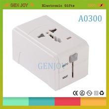 GENJOY A0311 high quality universal travel travel smart universal travel adaptor/plug usb 2.1A