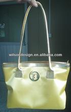 Custom designed nylon fabric handbag