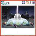 Plaza del Centro Comercial fuente de agua musical